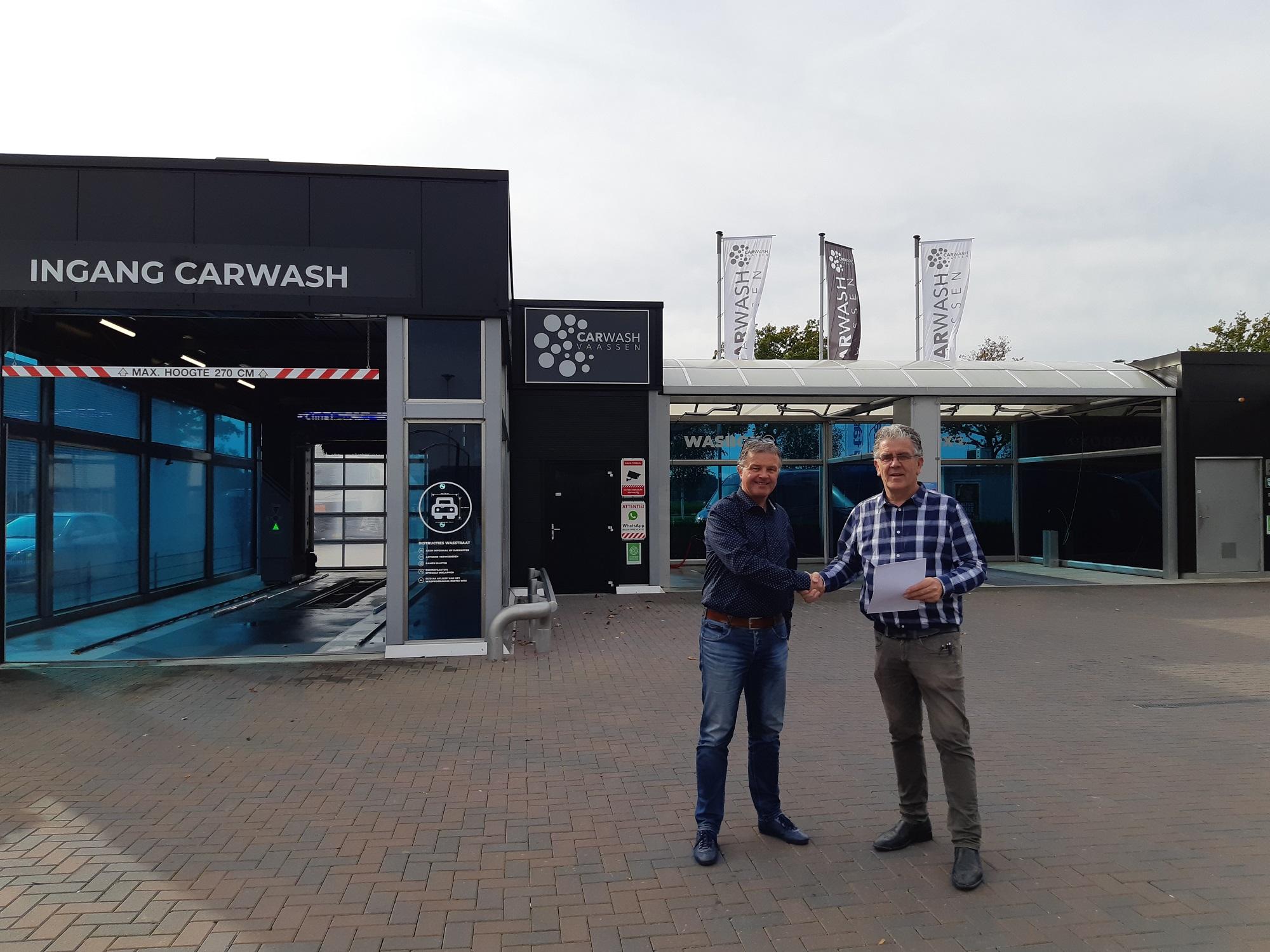 Carwash Vaassen nieuwe sponsor SEH